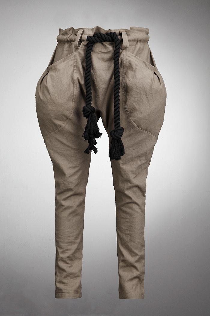 潮款哈伦裤男士休闲长裤