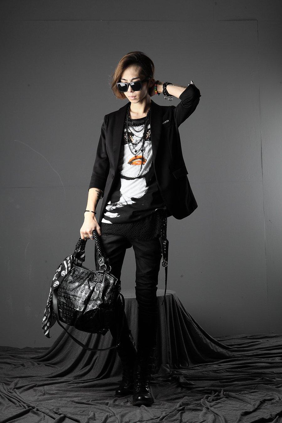 韩国流行元素超帅个性模特